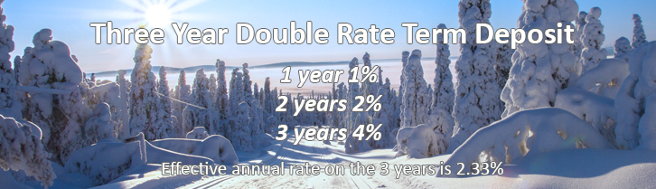 3yr Double Rate Term